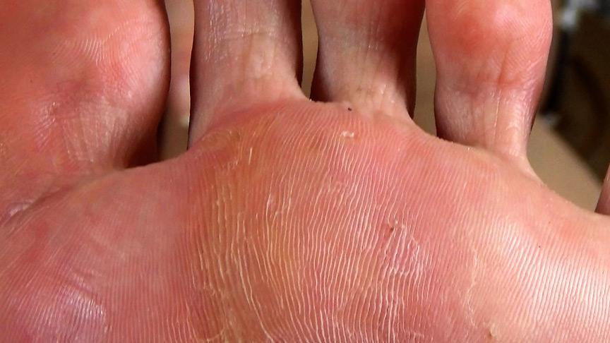 足の臭いフェチ