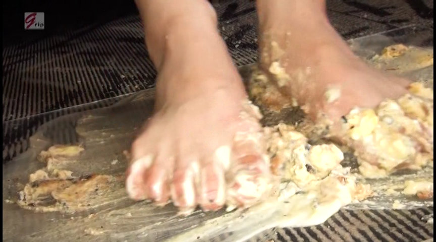 美女の足裏